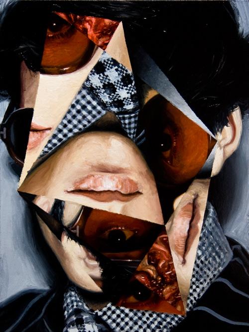 jeremy olson  u2013 collage paintings
