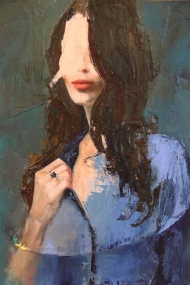 Fanny Nushka Moreaux - Blue Shirt