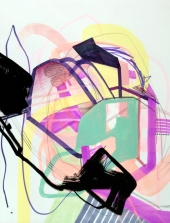 Jaime Derringer - Abstract Drawing #140405