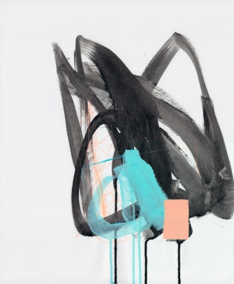 Jaime Derringer - Untitled 9 Abstract Modern Painting