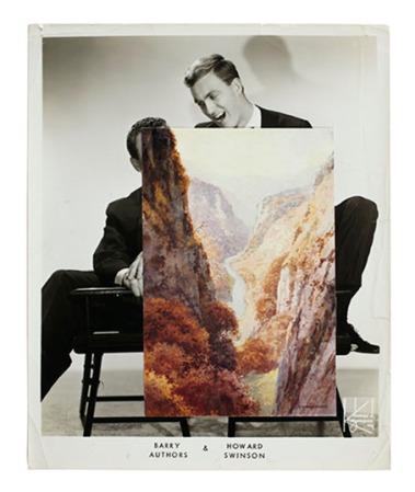 John Stezaker - Echo (Film Still Collage)