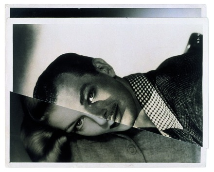 John Stezaker - Marriage (Film Portrait Collage) I