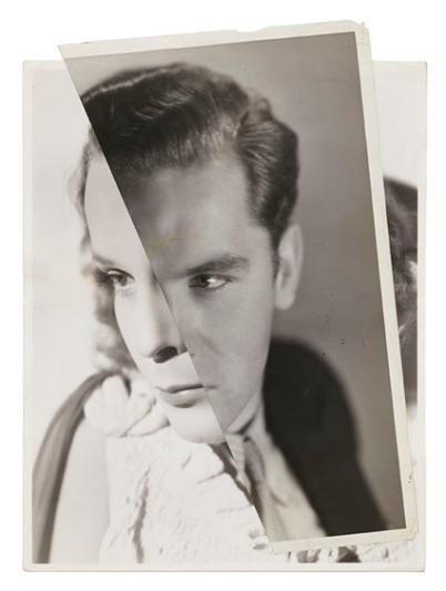 John Stezaker - Marriage (Film Portrait Collage) LXXVIII