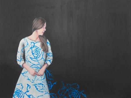 Karoline Kroiß - Girl with patterned dress