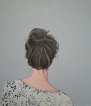 Karoline Kroiß - Girl with patterned shirt