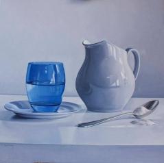 Miguel Angel Nunez - Composición Con Vaso Azul