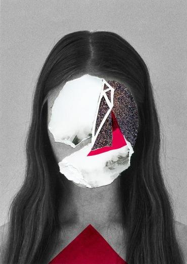 Rocio Montoya - Red Collage