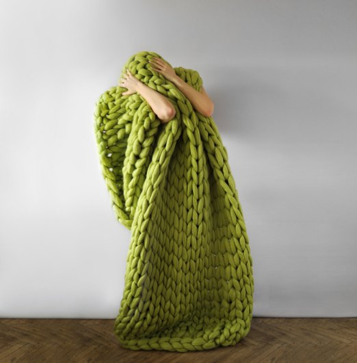 Ohhio - Large blanket .Grande punto