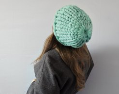 Ohhio - Piccolo punto. Hat. Chunky hat