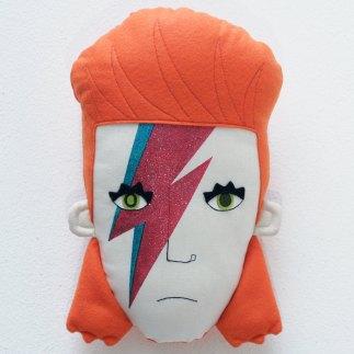 Pollaz - David Bowie:Ziggy Stardust Pillow Face
