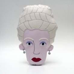 Pollaz - Madame D. (Grand Budapest Hotel, Wes Anderson) Pillow Face