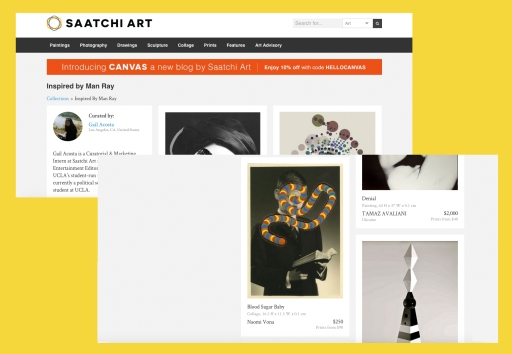 Saatchi Art - Inspired By Man Ray Collection