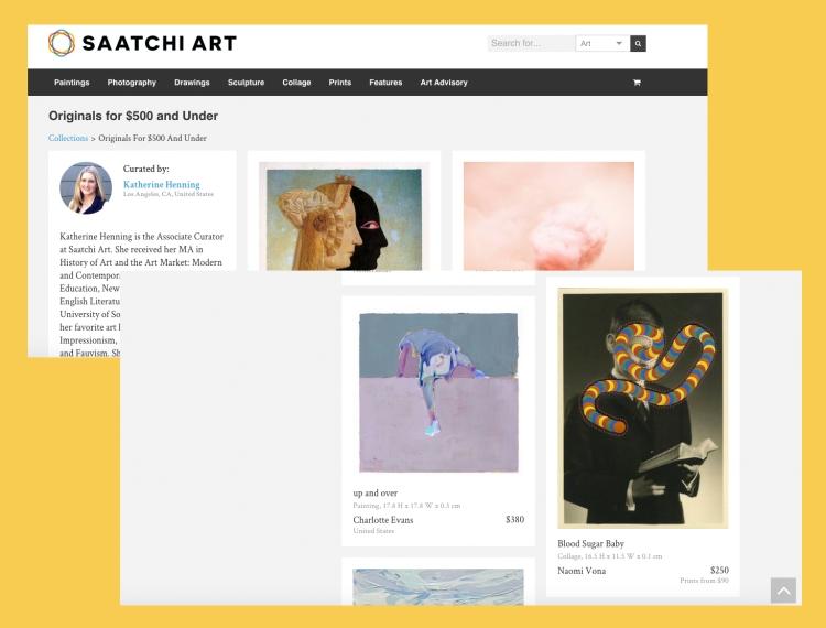 Saatchi Art - Originals For $500 And Under