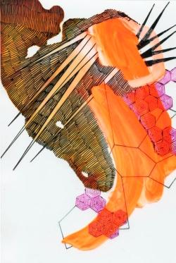 Kim Carlino - Geometric Intervention VII
