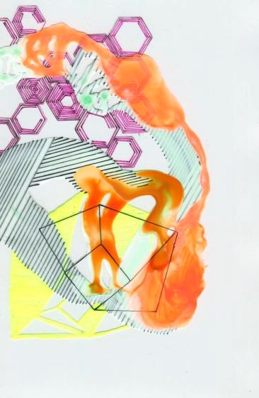 Kim Carlino - Geometric Intervention X