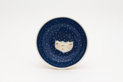 Marina Marinski - Dark Blue Ceramica Serving Bowl