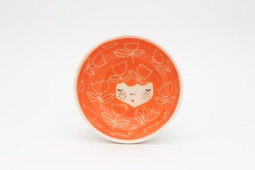Marina Marinski - Orange Ceramica Serving Bowl