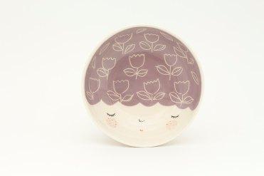 Marina Marinski - Purple Ceramica Bowl
