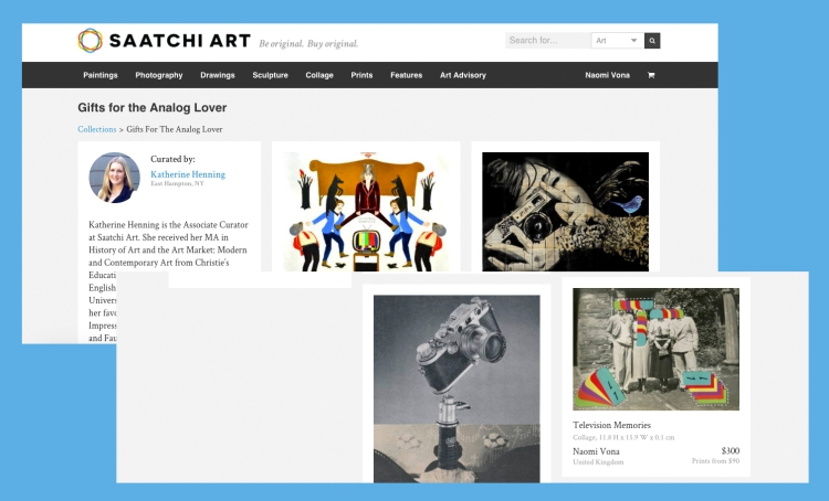 Saatchi Art - Gifts For The Analog Lover Collection
