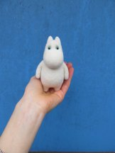 Jellyfish Handmade - Felted Moomintroll