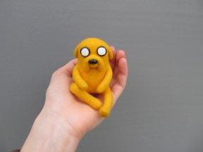Jellyfish Handmade - Jake Adventure Time Felted Jake