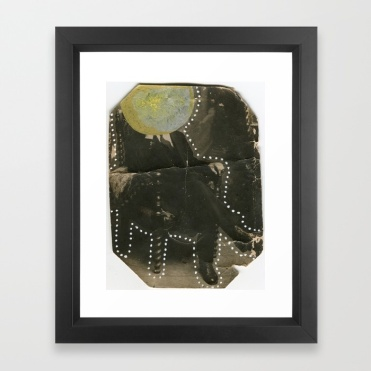 Framed art print of my artworks available on Society6.