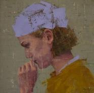 Female profile portrait.