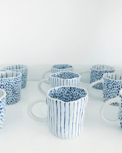 Still life photo of a group of cups.