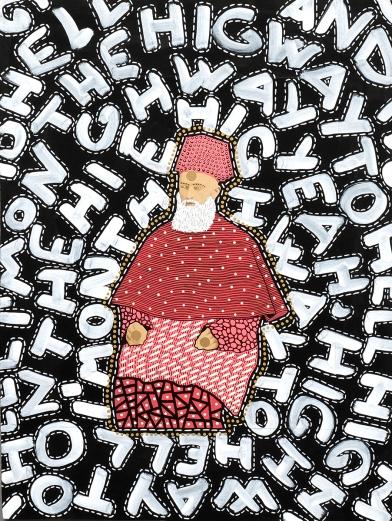 Altered bishop portrait.
