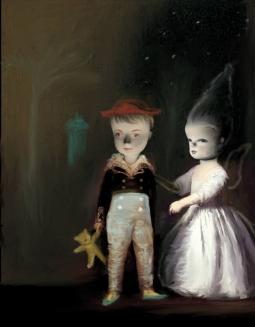 Portrait of two children.
