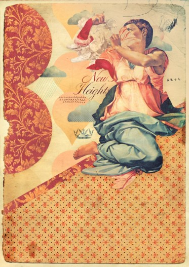 Vintage style collage.