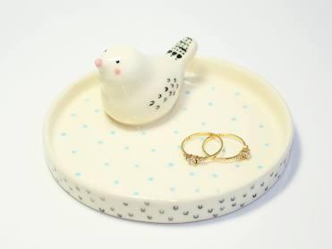 Still life photo of a jewellery dish