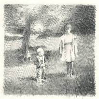 Portrait of two kids.