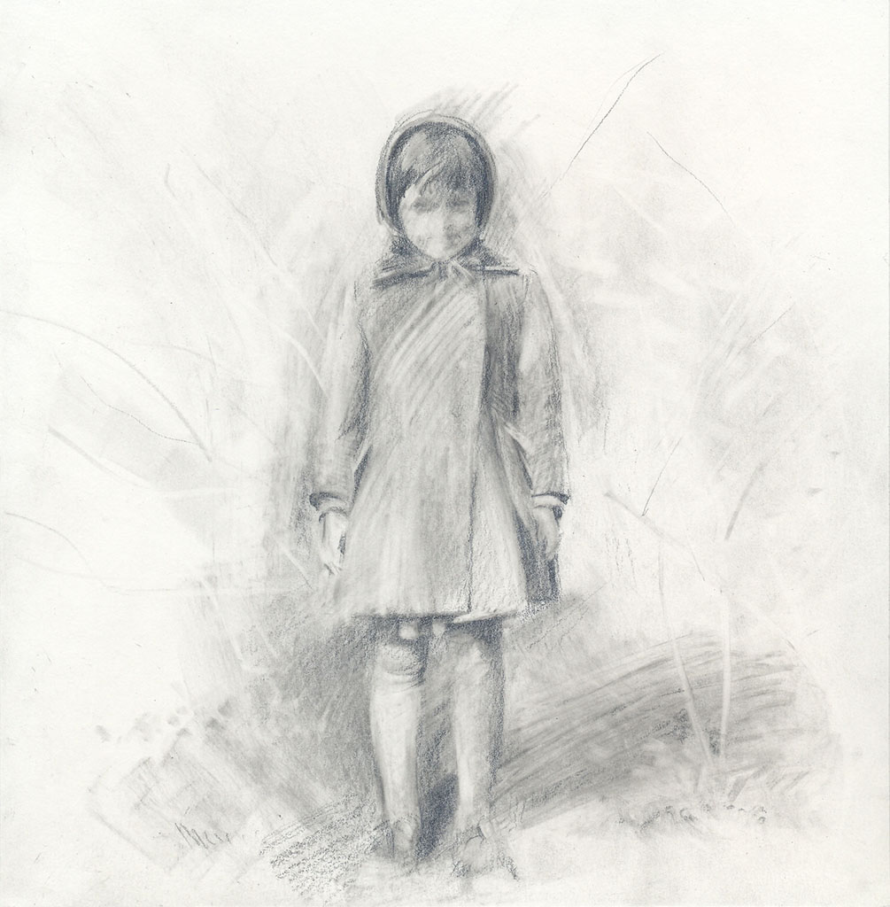 Baby girl portrait.