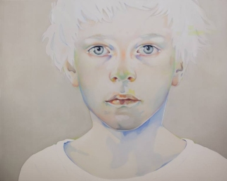 Baby boy portrait.