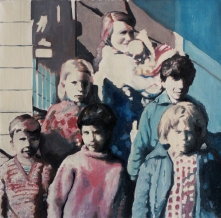 Group of children portrait.
