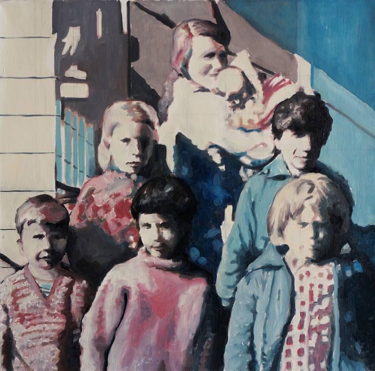 Group of children portrait.